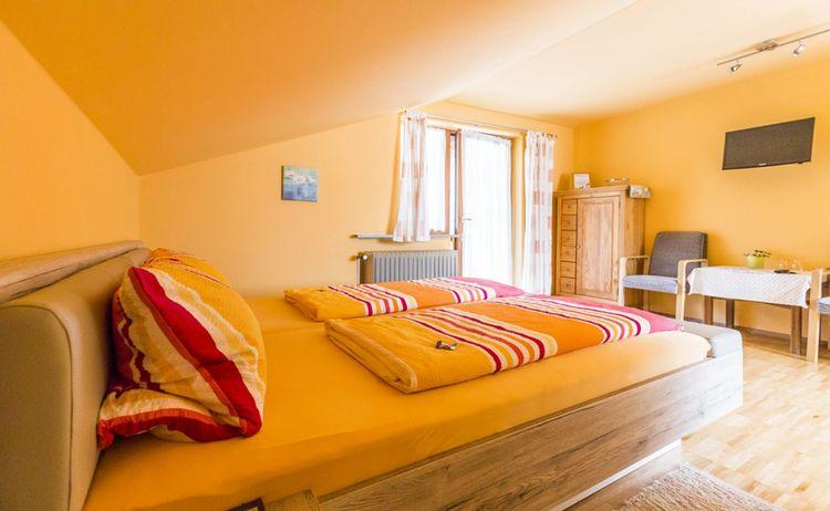 Zimmer 7 Schlafbereich